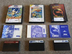 CEX Thetford - Master System games bundle