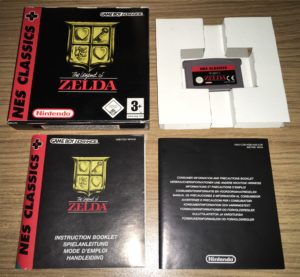 CEX Cambridge - GBA NES Classics The Legend of Zelda